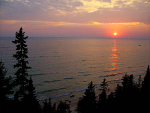 Lake Michigan Summer Beach Vacation Rental